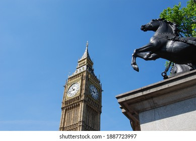 London, UK, May 23, 2009: The Big Ben - famous attraction in centre of London