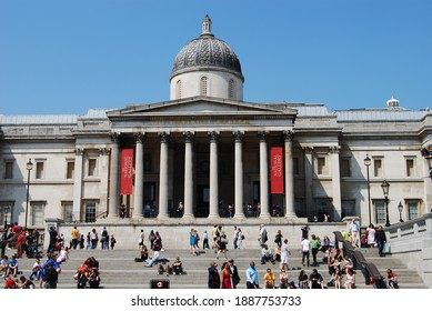 London, UK, May 24, 2009: National Gallery in London