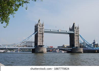 London, UK, May 25, 2009: Tower Brige in sunny day