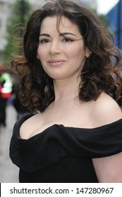 London. UK. Nigella Lawson  at the UK premiere of 'Bruno' held at the Empire Leicester Square in central London. 17th June 2009.