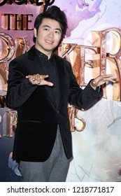 """LONDON, UK. November 01, 2018: Lang Lang at the European premiere of """"The Nutcracker and the Four Realms"""" at the Vue Westfield, White City, London."""