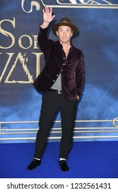LONDON, UK. November 13, 2018: Jude Law at the premiere for Fantastic Beasts The Crimes of Grindelwald at Leicester Square.