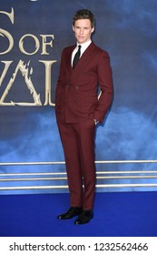 LONDON, UK. November 13, 2018: Eddie Redmayne at the premiere for Fantastic Beasts The Crimes of Grindelwald at Leicester Square.Picture: Steve Vas/Featureflash