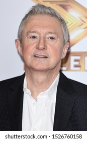 "LONDON, UK. October 09, 2019: Louis Walsh at the photocall for ""The X Factor: Celebrity"", London.