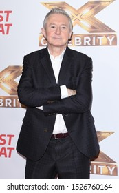 """LONDON, UK. October 09, 2019: Louis Walsh at the photocall for """"The X Factor: Celebrity"""", London.Picture: Steve Vas/Featureflash"""