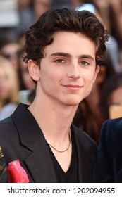 "LONDON, UK. October 13, 2018: Timothee Chalamet at the London Film Festival screening of ""Beautiful Boy"" at the Cineworld Leicester Square, London."