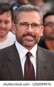 "LONDON, UK. October 13, 2018: Steve Carell at the London Film Festival screening of ""Beautiful Boy"" at the Cineworld Leicester Square, London."