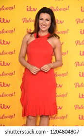 "LONDON, UK. October 16, 2018: Susanna Reid arriving for the ""ITV Palooza!"" at the Royal Festival Hall, London."