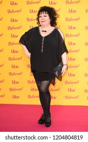 """LONDON, UK. October 16, 2018: Sue Vincent arriving for the """"ITV Palooza!"""" at the Royal Festival Hall, London.Picture: Steve Vas/Featureflash"""