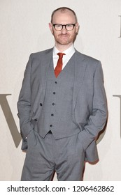 """LONDON, UK. October 18, 2018: Mark Gatiss at the London Film Festival screening of """"The Favourite"""" at the BFI South Bank, London."""