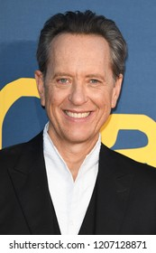 "LONDON, UK. October 19, 2018: Richard E Grant at the London Film Festival screening of ""Can You Ever Forgive Me"" at the Cineworld Leicester Square, London."