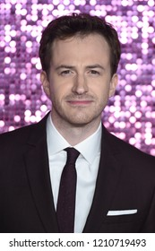 "LONDON, UK. October 23, 2018: Joe Mazzello at the world premiere of ""Bohemian Rhapsody"" at Wembley Arena, London."