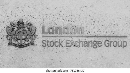 London, UK - October 29, 2017: London Stock Exchange Group Logo