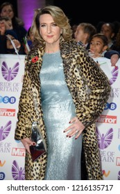 LONDON, UK. October 29, 2018: Victoria Derbyshire at the Pride of Britain Awards 2018 at the Grosvenor House Hotel, London.