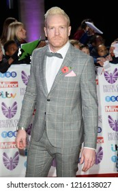 LONDON, UK. October 29, 2018: Iwan Thomas at the Pride of Britain Awards 2018 at the Grosvenor House Hotel, London.Picture: Steve Vas/Featureflash
