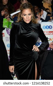 LONDON, UK. October 29, 2018: Caroline Flack at the Pride of Britain Awards 2018 at the Grosvenor House Hotel, London.