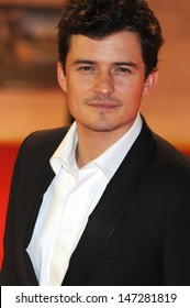 London, UK.  Orlando Bloom  at the World Premiere of the film The Three Musketeers at the Vue Cinema, Westfield Shopping Centre, London. 4th October 2011.