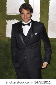 London, UK. Roger Federer, 2012 Men's Singles Champion, at the Wimbledon Champions Dinner, held at the InterContinental Hotel, Park Lane. 8th July 2012.