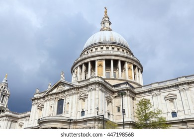 London, UK. Saint Paul's Cathedral - Church of England.