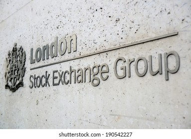 LONDON, UK - SEP 27: London Stock Exchange Group in financial district on September 27, 2013 in London, UK. London is the world's most visited city and the capital of UK.