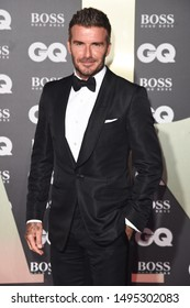 LONDON, UK. September 03, 2019: David Beckham arriving for the GQ Men of the Year Awards 2019 in association with Hugo Boss at the Tate Modern, London.Picture: Steve Vas/Featureflash