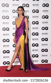 LONDON, UK. September 05, 2018: Zendaya at the GQ Men of the Year Awards 2018 at the Tate Modern, London