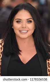 "LONDON, UK. September 12, 2018: Scarlett Moffatt at the World Premiere of ""King of Thieves"" at the Vue Cinema, Leicester Square, London.