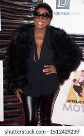 """LONDON, UK. September 23, 2019: Mica Paris at the """"Hitsville: The Making of Motown"""" European premiere at the Odeon Leicester Square, London.Picture: Steve Vas/Featureflash"""