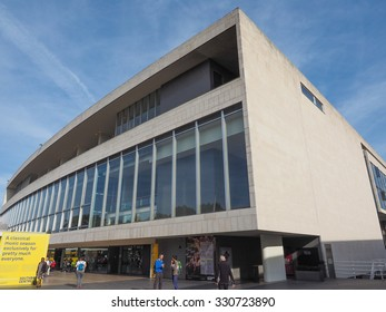 LONDON, UK - SEPTEMBER 29, 2015: The Royal Festival Hall built as part of the Festival of Britain national celebrations in 1951 is still in use as a major music and entertainment venue