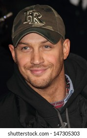 London, UK. Tom Hardy at the World Premiere of 'Jack Reacher', held at the Odeon, Leicester Square. 10th December 2012.
