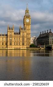 London, UK-July 21, Big Ben, July 21.2014 in London