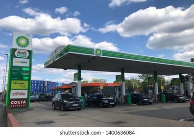 Bp Petrol Station Images, Stock Photos & Vectors   Shutterstock