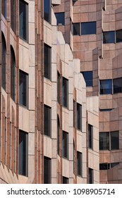 London, United Kingdom / 05 19 2018: well structured house facade