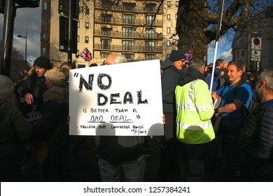 London / United Kingdom 12.09.18 Ukip Supporters join Gerard Batten and Tommy Robinson on the Brexit Betrayed Rally organised by UKIP in London
