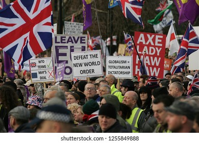 London / United Kingdom 12.09.2019 Brexit Betrayed Rally organised by UKIP in London