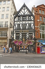 London, United Kingdom - August 24, 2012: Archive photo of the George, pub on the Strand