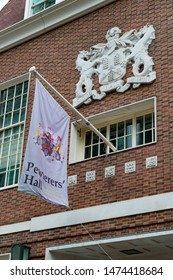 London, United Kingdom, August 3rd 2019:- The Worshipful Company of Pewterers headquarters located at Pewterers' Hall, Oat Lane, London