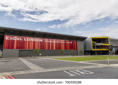 London, United Kingdom, August 5, 2017: ExCel Exhibition Center in London in Dockland.