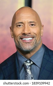 London, United Kingdom - December 7, 2017: Dwayne Johnson attends the UK premiere of 'Jumanji: Welcome To The Jungle' at Vue West End in London, England.