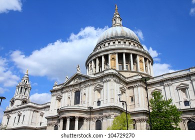 London, United Kingdom - famous St. Paul's Cathedral church