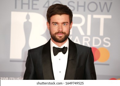 London, United Kingdom- February 18, 2020: Jack Whitehall attends the Brit Awards at the 02 Arena in London, UK.