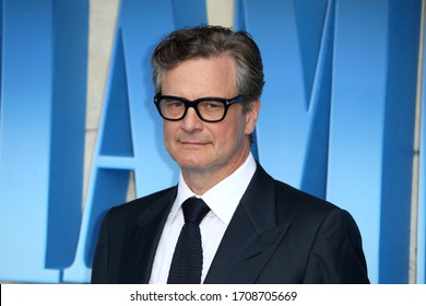"London, United Kingdom- July 16, 2018: Colin Firth attends the UK Premiere of ""Mamma Mia! Here We Go Again"" at Eventim Apollo in London, UK."
