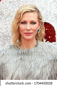 London, United Kingdom- June 13, 2018: Cate Blanchett attends the 'Ocean's 8' UK Premiere at Cineworld Leicester Square in London, UK.