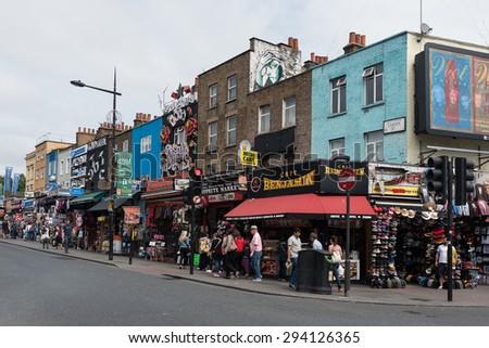 bf9a572773 LONDON UNITED KINGDOM JUNE 2015 Camden Stock Photo (Edit Now ...
