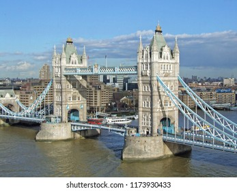 London, United Kingdom - March 03, 2007: Tower Bridge Over Thames River in London, United Kingdom.
