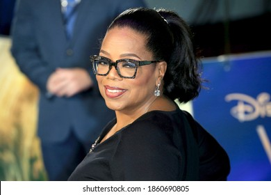 London, United Kingdom - March 13, 2018: Oprah Winfrey attends the European Premiere of 'A Wrinkle In Time' at BFI IMAX in London, England.