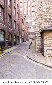 London, United Kingdom - March 27, 2015: Savoy Steps is the location where Bob Dylan shot the video for his 1965 song, Subterranean Homesick Blues.
