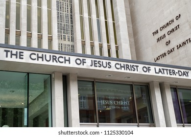 LONDON, UNITED KINGDOM - MAY 13: The church of Jesus Christ of latter-day saint on May 13, 2018 in London