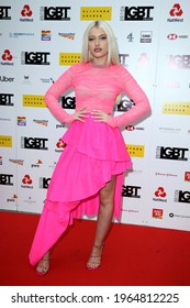 London, United Kingdom - May 17, 2019: Alice Chater  attends the British LGBT Awards 2019 at Marriott Hotel Grosvenor Square in London, England.