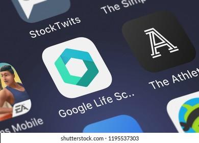 Google Life Sciences Study Kit Images, Stock Photos